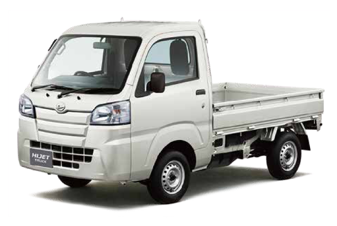 ハイゼットトラック(ダイハツ)|余市カーリースならフラット7余市|月額リース料別取扱車種